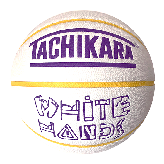 WHITE HANDS -PURPLE & GOLD-